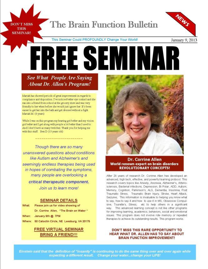 Dr Allen Seminar1