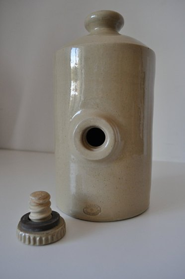 antique water bottle