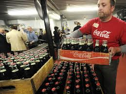 coke bottling