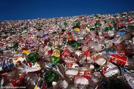 coke in trash
