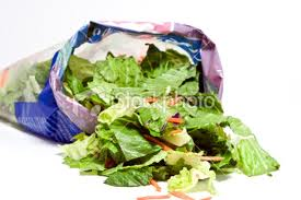 salad in a bag