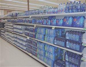 Isle of bottled water